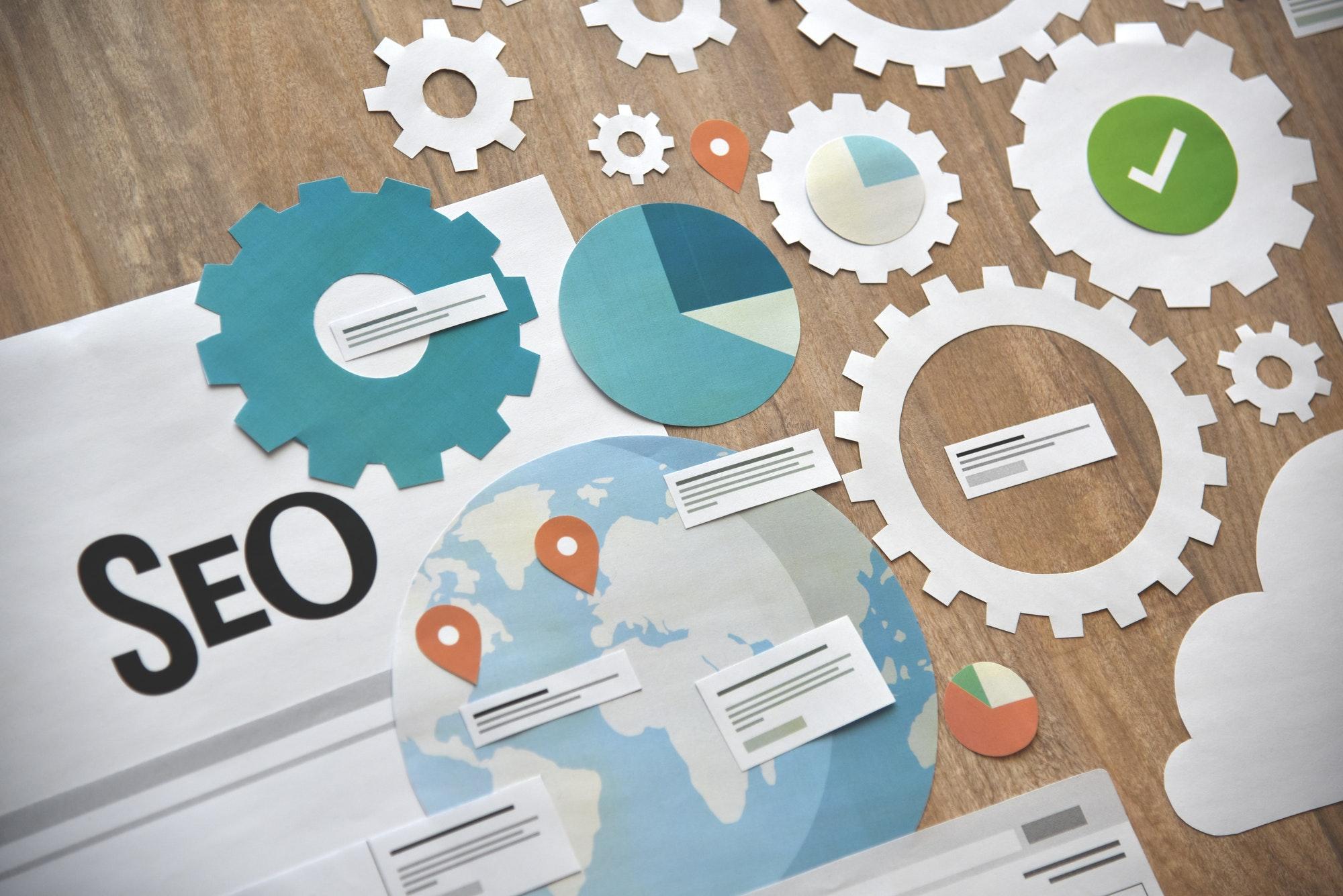 Web Optimization Concept Design
